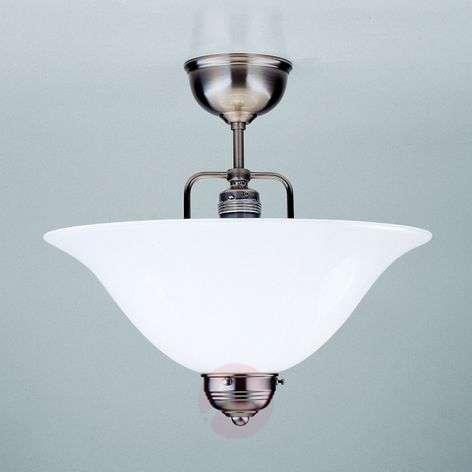 ROSA nickel ceiling light, handmade