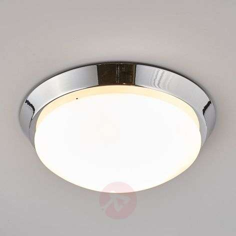Round ceiling light Dilani for the bathroom