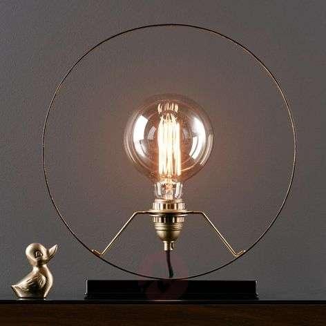 Round decorative light Solberg