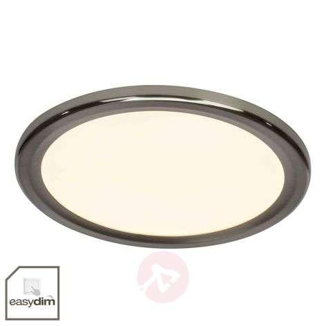 Round easydim ceiling light Neptun with LEDs