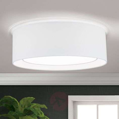 Round fabric ceiling light Antoni