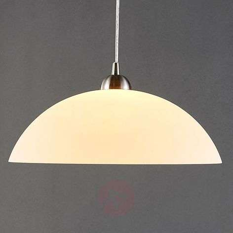 Round glass hanging light Valeria for the kitchen-9621039-32