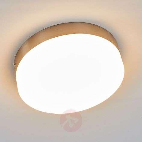 Round LED ceiling lamp Nieke, bright