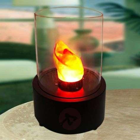Round LED decorative light - Flame table chimney