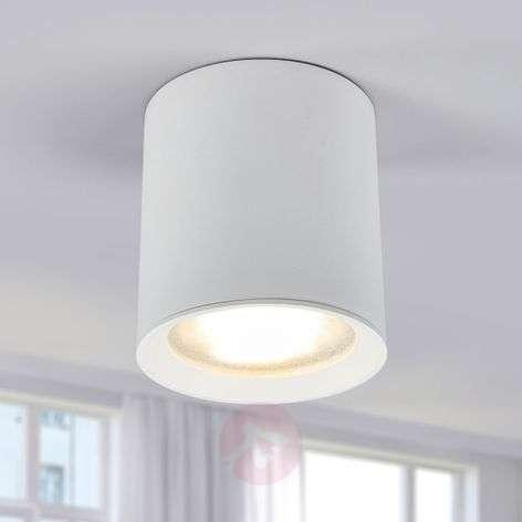 Round LED downlight Benk in white