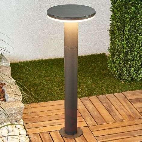 Round LED path light Olesia, 60 cm