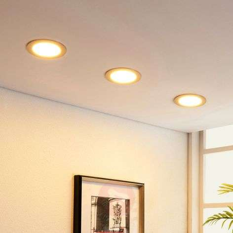 Round LED recessed light Martje