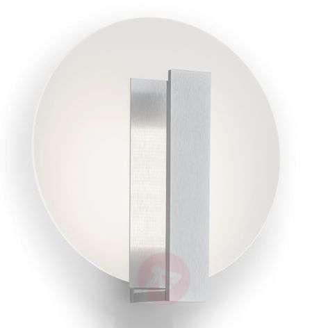 Round LED wall light Marlisa with metal bracket