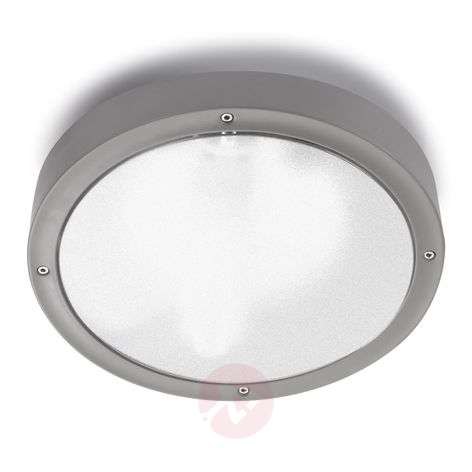 Round outdoor wall light Basic in two sizes