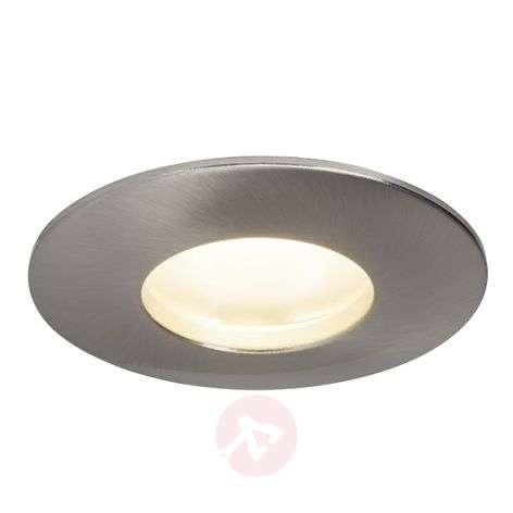 Round Verano LED recessed ceiling light, IP44