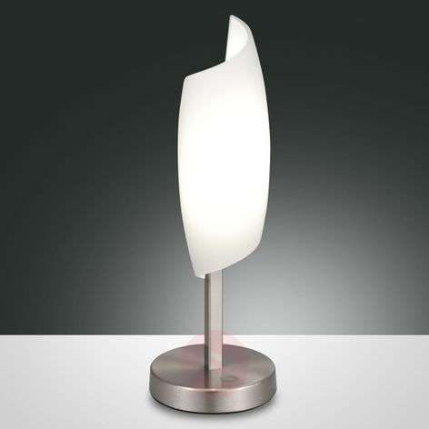 Roxie LED table lamp with hand-blown glass