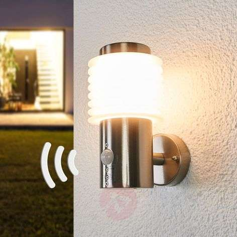 Roxy - LED outdoor wall lamp with sensor