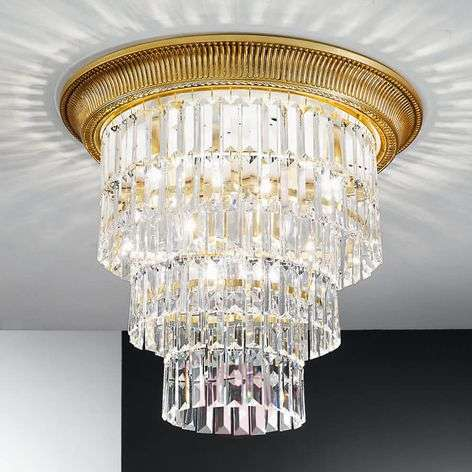Royal ceiling light Milord Crystal
