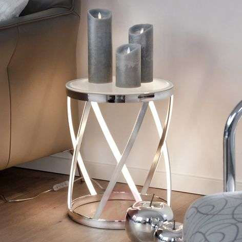 Rumpu - light source and side table in one