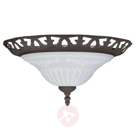 RUST ceiling light in an antique design-9003185-31
