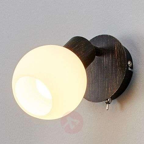 Rust coloured LED wall light Elaina-9620019-31