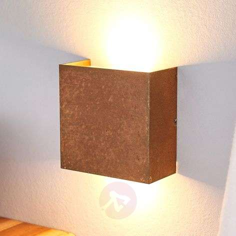 Rust-coloured LED wall light Mira German-made-6722434-31