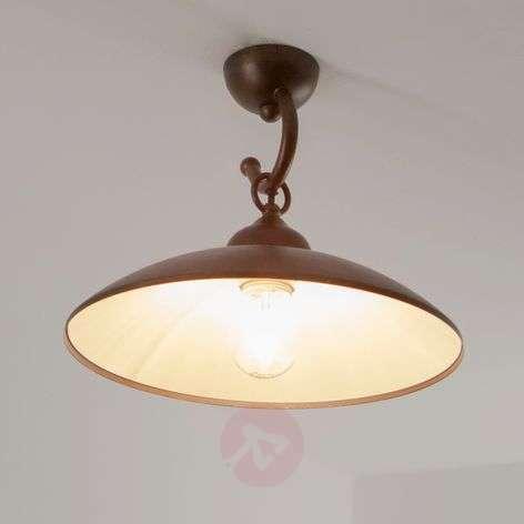 Rustic ceiling lamp Baja