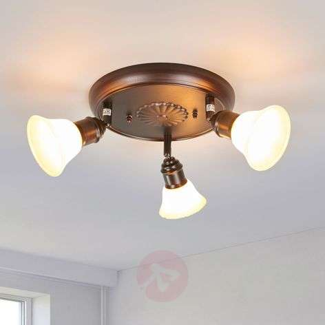Rustic ceiling light Elma