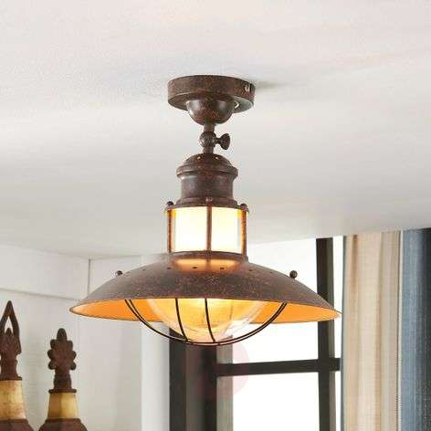 Rustic ceiling light Louisanne