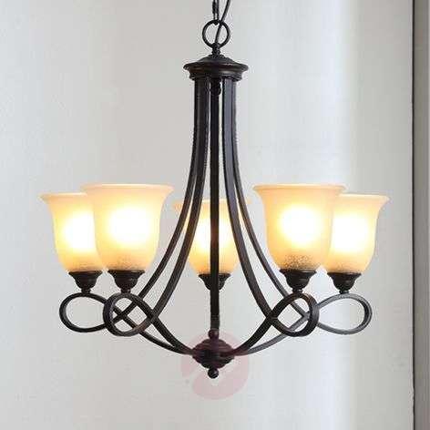 Rustic chandelier Trisha