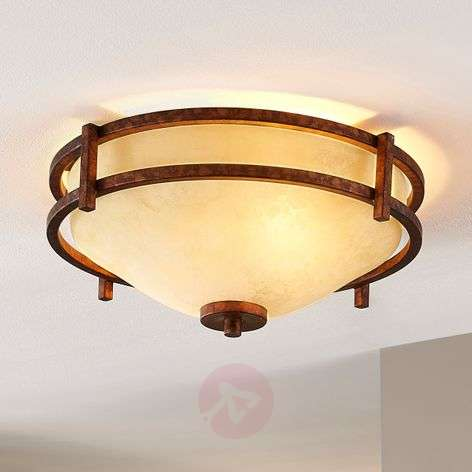 Rustic-looking ceiling lamp Rosanna