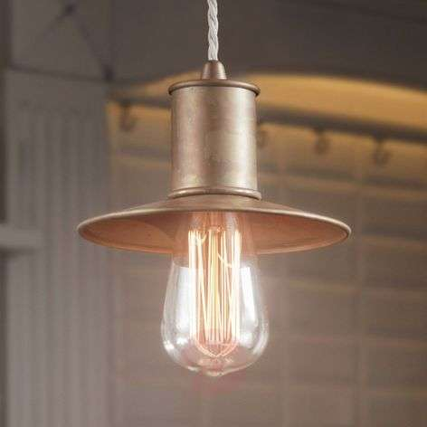 Rustic Nio hanging light made from metal
