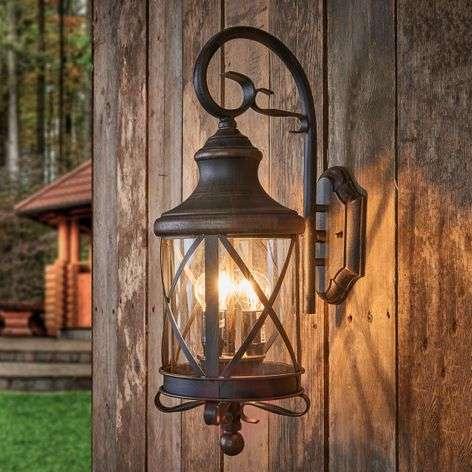 Rustic outdoor wall light Romantica
