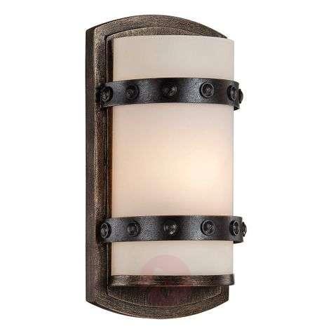 Rustic wall light Alsace
