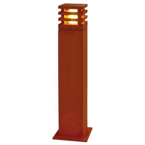 Rusty Square Path Light High-Quality