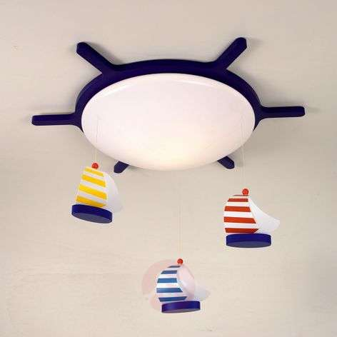 Sailing Boat Ceiling Light Boat Design-5400129-31