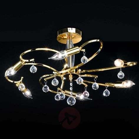 Sala Ceiling Light Glittery Six Bulbs