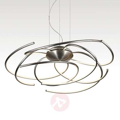 Salina galactic-looking LED pendant light