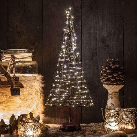 Santa's Tree, copper wire