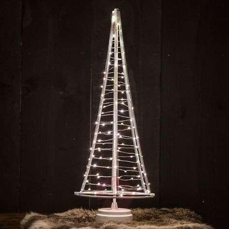Santa's Tree, silver wire