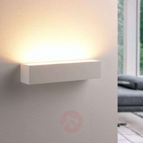 Santino - wall light made from white plaster