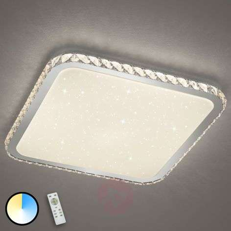 Sapporo - LED ceiling light incl. remote control