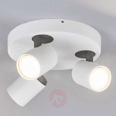Sean 3-bulb round LED ceiling spotlight-9975021-31