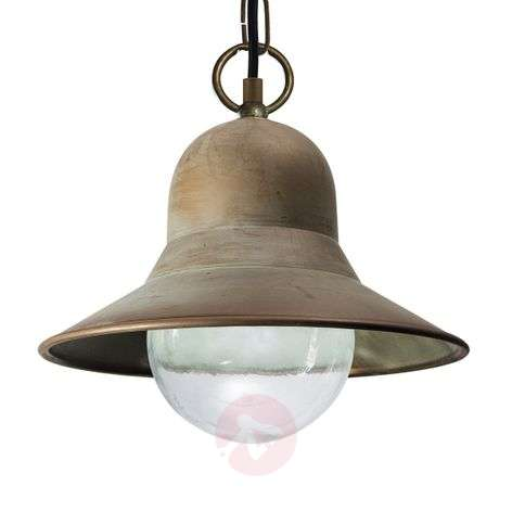 Seawater-resistant outdoor hanging light Marquesa