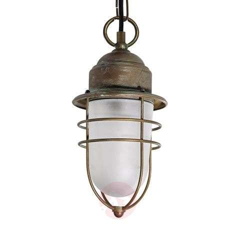 Seawater-resistant outdoor hanging light Matteo