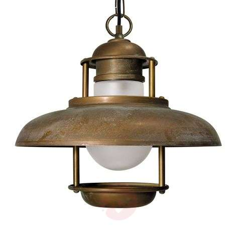 Seawater-resistant outdoor hanging light Salina-6515223-31