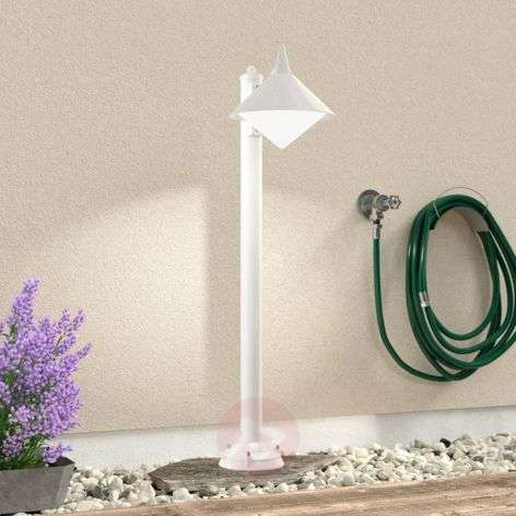 Seawater resistant path lamp Liara, white-6068077-31