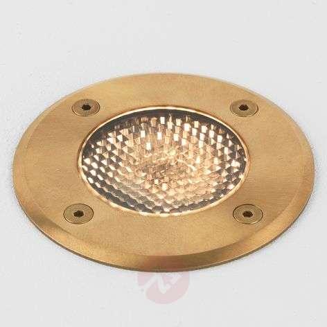 Seawater-resistant recessed floor light Gramos