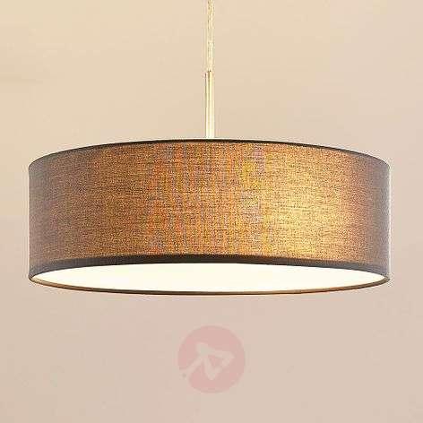 Sebatin - fabric pendant light in grey