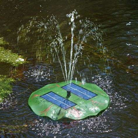 Seerose - floating solar pond pump