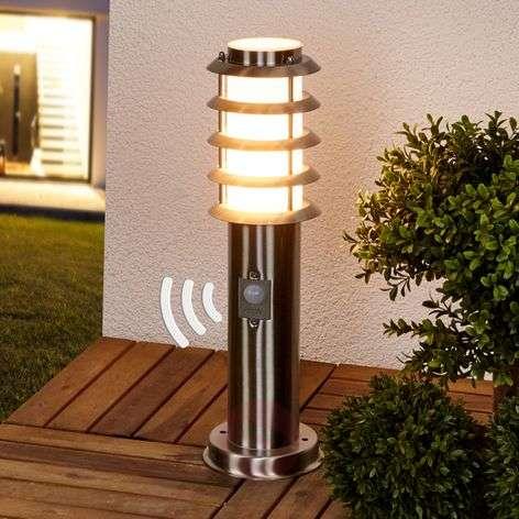 Selina - pillar lamp including motion detector