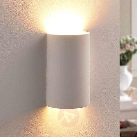 Semi-circular LED plaster wall lamp Colja-9621341-32