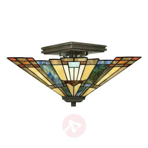 Semi-flush ceiling light Inglenook