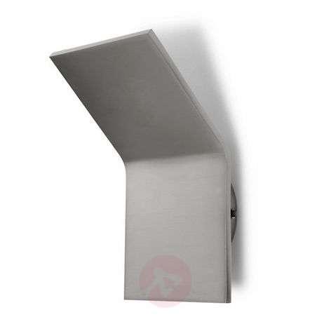 Semi-flush linear LED wall light Plasma