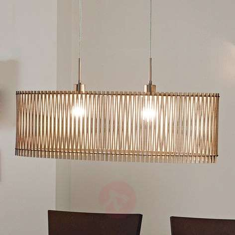 Sendero - wooden pendant light with natural design